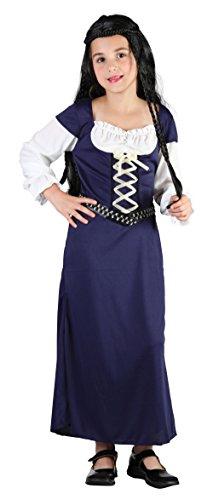 Bristol Novelty- Costume de Lady Marion, Taille S, CC904, Blanc, Petit
