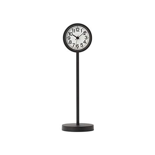 無印良品 公園の時計・ミニ 置時計・ブラック 15909322
