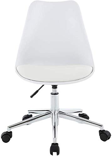 JYHS Sillas para el hogar, altura multiusos, ajustable, giratoria, gruesa, de acero, de poliuretano, de algodón, universal, silla de oficina, silla de oficina, jhfk/E, color: E cómodo (color: C)