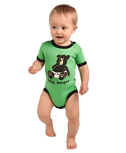 LazyOne Garçon Little Booger Body Bebe Vest 18 Months