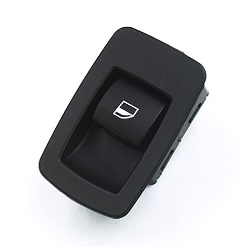 Lyqfff para BMW E53 E71 E72 E83 E90 E91 316i 318i 320i, 61316945874 Interruptor Elevador de Ventana Negro Delantero Izquierdo o Derecho