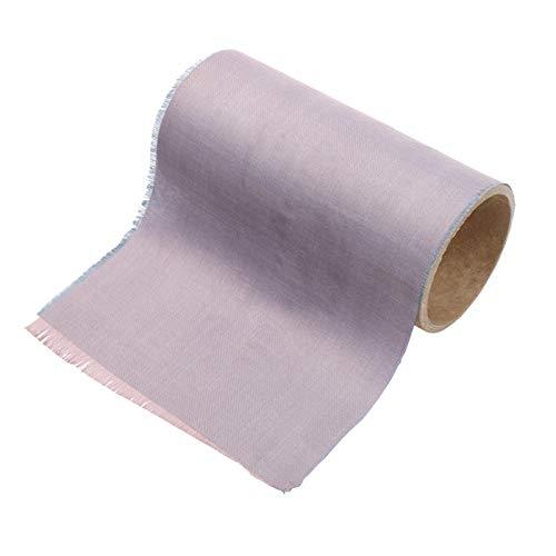 Tissu En Fibre D'argent, Antistatique, Adapté Aux Meubles, Aux Textiles De Maison, Aux Vêtements De Protection Contre Les Radiations Pour Femmes Enceintes, Doublure De Protection Rfid(Size:1.5*9m)