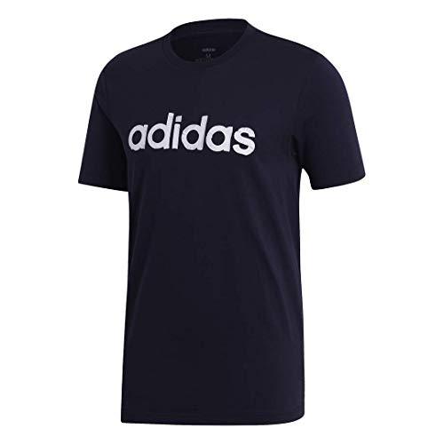 adidas Camiseta para hombre Linear Graphic - F193CSIM206, playera con gráfico lineal., L, Tinta de leyenda/tinta de leyenda
