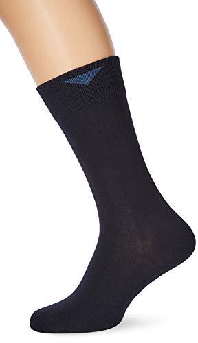 Nur Der Herren Cotton Stretch Doppelpack Socken, Blau (Maritim 190), 43/46 (Herstellergröße: 43-46)