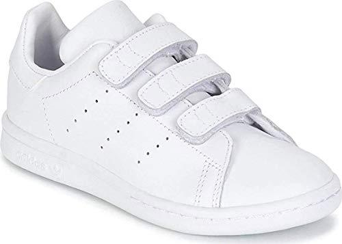 Adidas Stan Smith S, Zapatillas de Deporte Unisex Niños, Gris (FTWR White/Grey One F17), 32 EU