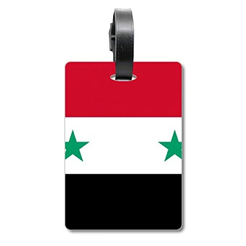 Syrië nationale vlag Azië land cruise koffer tas tag Tourister identificatie label