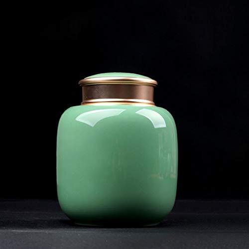 ZXJTX Caja Conmemorativa para Cenizas El Gato y el Perro falleció Las Cenizas Pueden sellar Doble cenamas de cerámica, Las Cenizas de Las Cenizas Pueden Urna de cremación (Size : Small)