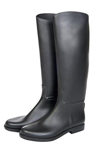 HKM 9678 Reitstiefel Bern, Stiefel Standard, Gewebeeinsätze, Unisex 40
