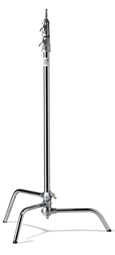 Kupo 40in Master C-Stand with Sliding Leg - Silver (KS703512)