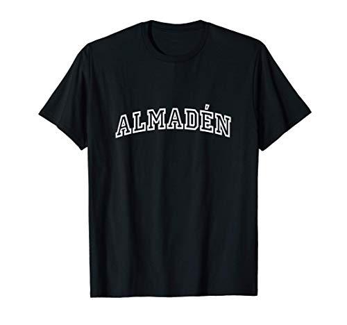 Almadén Vintage Retro Sports Arch Camiseta