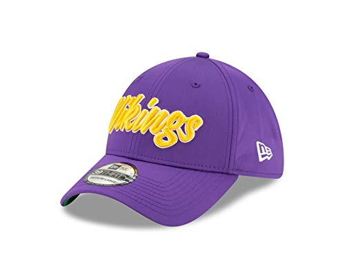 New Era Minnesota Vikings 39thirty Stretch Cap NFL 2019 Sideline Home 1960 Purple - L-XL