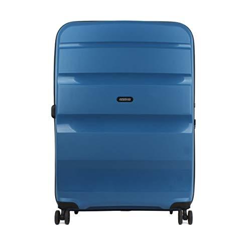 American Tourister Bon Air DLX Valigia trolley (4 ruote) blu 75 cm