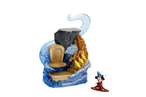 Disney - Escenario Mickey Aprendiz de Mago Edicion 90 Aniversario Nano Metalfigs