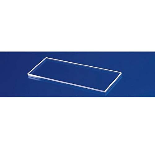 Fisher Scientific 12-550C Plain Glass Microslides, 75 mm x 50 mm (Pack of 72)