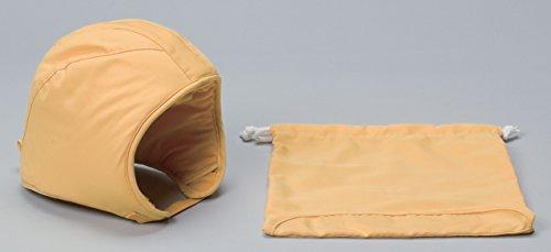 日本防炎協会認定品 乳幼児用防災ずきん(専用袋付き) 90038