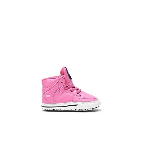 Supra - - Babybett Vaider Schuhe, EUR: 18.5, Pink/White
