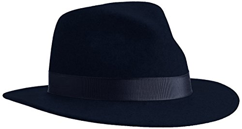 Bailey Curtis Bonnet, Bleu Marine, L Mixte