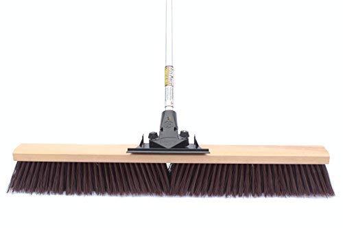 FlexSweep Flex-Power Unbreakable Heavy-Duty Push Broom (30' Coarse)