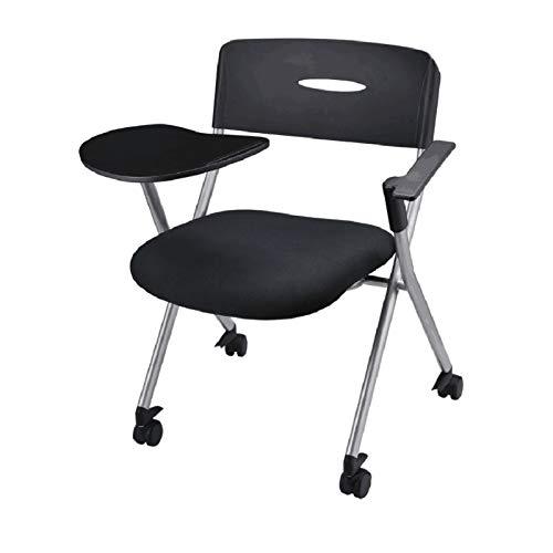 JJSFJH Las sillas de Oficina Plegables sillas de Escritorio del Ministerio del Interior, Reunión Rollover Personal de recepción Silla de Trabajo de la Tableta con la Silla del Ordenador Reunión Silla