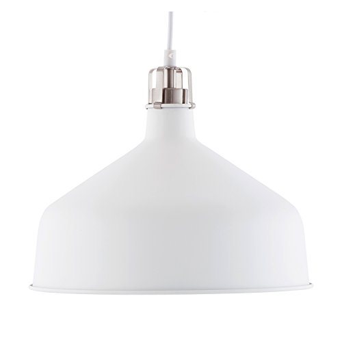 Light Society LS-C167-WHI Banbury Pendant Lamp, White