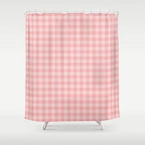 QAQ sterrenhemel douchegordijn waterdicht klassiek patroon Plaid met haken polyester stof badkamer gordijnen voor thuis decoraties