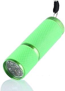 Lámpara de uñas Portátil Mini 9 Led Secador De Uñas Curado Lámpara De Gel Linterna Antorcha Para Uv Gel Esmalte De Uñas Hermosas Herramientas