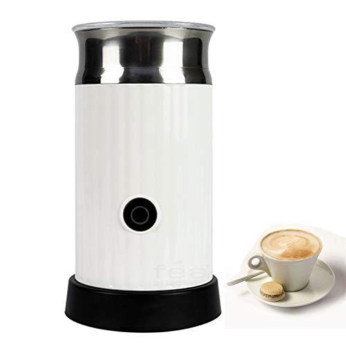 XHDD Vaporizador de Leche Eléctrico,500W 150ml/250ml Acero Inoxidable Recubrimiento Antiadherente para Cappuccino Latte Mocha,café expreso