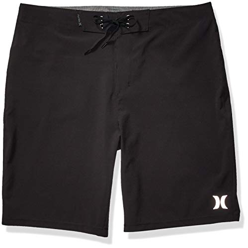 Hurley Men's Phantom One and Only Board Shorts, Black, 32