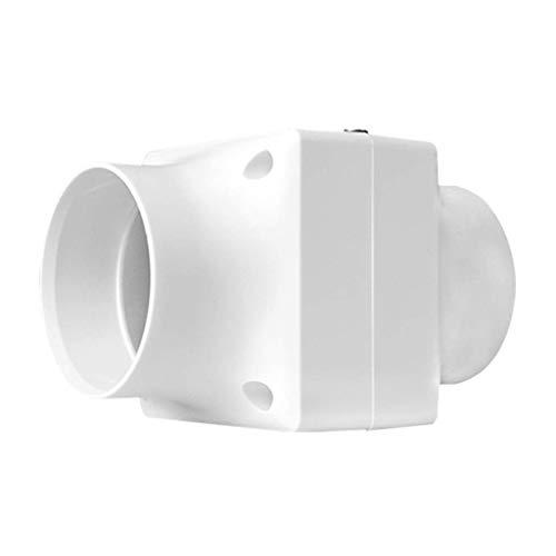 RJSODWL Ventilador de ventilación - Ventilador en línea de huracán de Alto Rendimiento, Ventilador en línea de Grado Comercial Ventilador de ventilación
