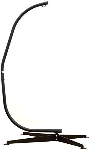 AMANKA Stabiles Hängesessel Gestell 205cm - Hängestuhl Ständer bis 120kg - Wetterfester Stahl