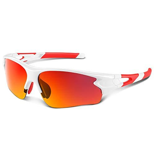Tac Polarized sports sunglasses for Men Women Youth Baseball Military Motorcycle Running Fishing UV400