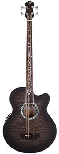 Michael Kelly MKDF4FLSKB Dragonfly 4 Fretless Bass, Smokeburst