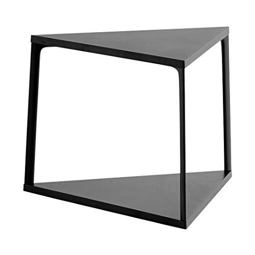 HAY Eiffel bijzettafel driehoekig, zwart LxBxH 52x52x38cm