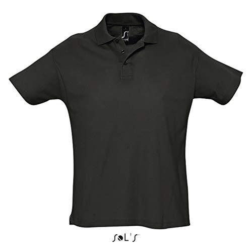 SOL´s Summer Poloshirt Black, M