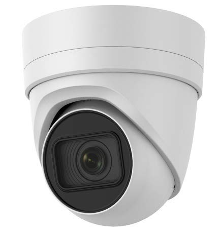 4K PoE Security IP Camera - Compatible with Hikvision DS-2CD2H85FWD-IZS UltraHD 8MP Varifocal EXIR Turret Onvif Weatherproof 2.8-12mm Motorized Lens Best for Home and Business Security