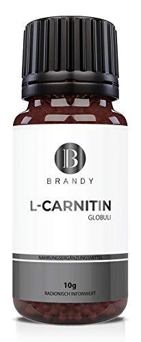 Brandy - L-Carnitin Globuli - Figurbewusst, Definitionsphase - 100% natürlich, Alternative zu Kapseln