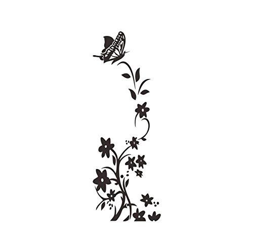 NoBrand Adesivi Da Parete Murale Plant De Vigne Pensée Camera Da Letto Soggiorno Adesivi Da Parete Removibili/Stickers Murali/Decorazione Murale