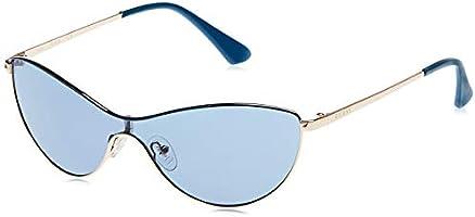 Guess Women's Sunglasses GU763092V00 - Blue/Blue Metal