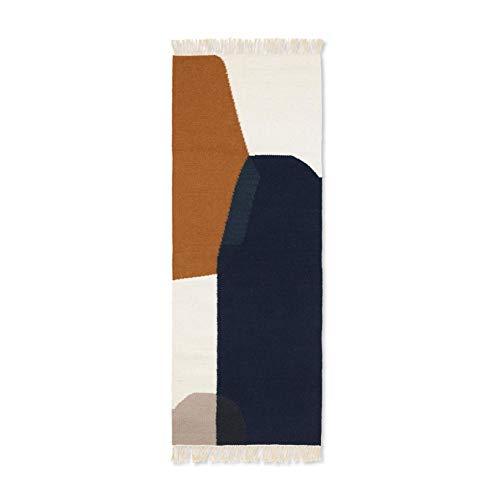 Ferm Living Tapis, 80% Laine et 20% Coton, 180 x 70 cm