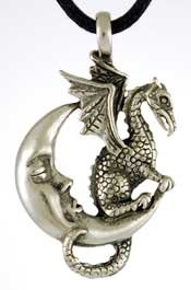 Midnight Dragon Amulet Potent Aid to Your Magic Workings Spells & Rituals
