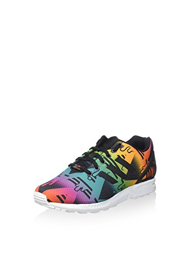 adidas Sneaker ZX Flux Nero/Multicolore EU 36 2/3 (UK 4)