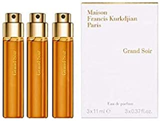 Maison Francis Kurkdjian GRAND SOIR Eau de Parfum Travel Spray Refill, 3 x 11ml