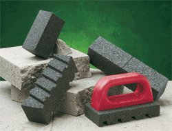 United Abrasives 25061 - Honing Stone, Silicon Carbide, Coarse, Grit Number: 24, Overall Length: 8', Overall Width: 2'