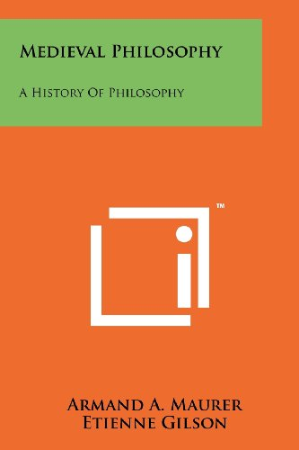 Compare Textbook Prices for Medieval Philosophy: A History Of Philosophy  ISBN 9781258202897 by Maurer, Armand A.,Gilson, Etienne