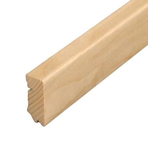Parat Sockelleiste 630 Ahorn can. furnierummantelt 16x 40 mm 10 Stück a 2,7 lfm = 3,40 EUR/lfm