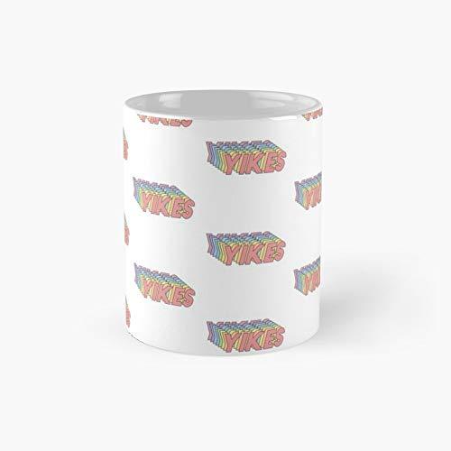 Yikes Classic Mug Best Gift Funny Coffee Mugs 11 Oz