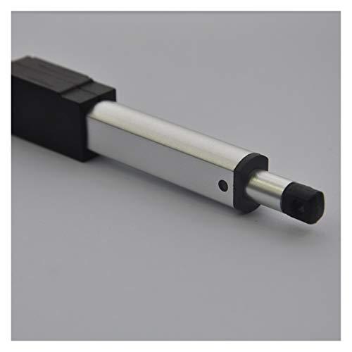 WSCHENG ACTUADOR ELÉCTRICO Micro Lineal 6V 12V Durante Y PACTURA TRATE para Controles REMOTOS ROBOTICA AUTOMATIZACIÓN del HOGAR (Speed(RPM) : 12V 15MMS 64N, Voltage(V) : 50mm Stroke)