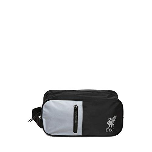 Liverpool FC Black/Silver Boot Bag LFC Official