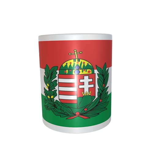 U24 Tasse Kaffeebecher Mug Cup Flagge Ungarn