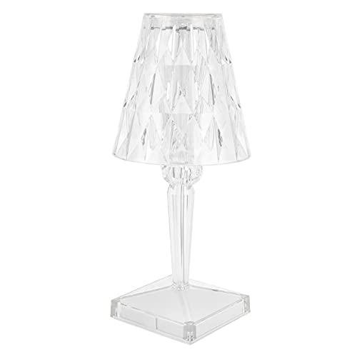 SONK Lámpara de Mesa de Cristal, lámpara de Escritorio de Prisma, decoración del hogar para restaurantes, Bares, Fiestas, Banquetes